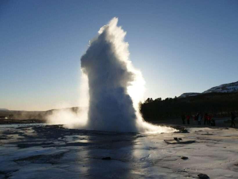 Islanda geysir