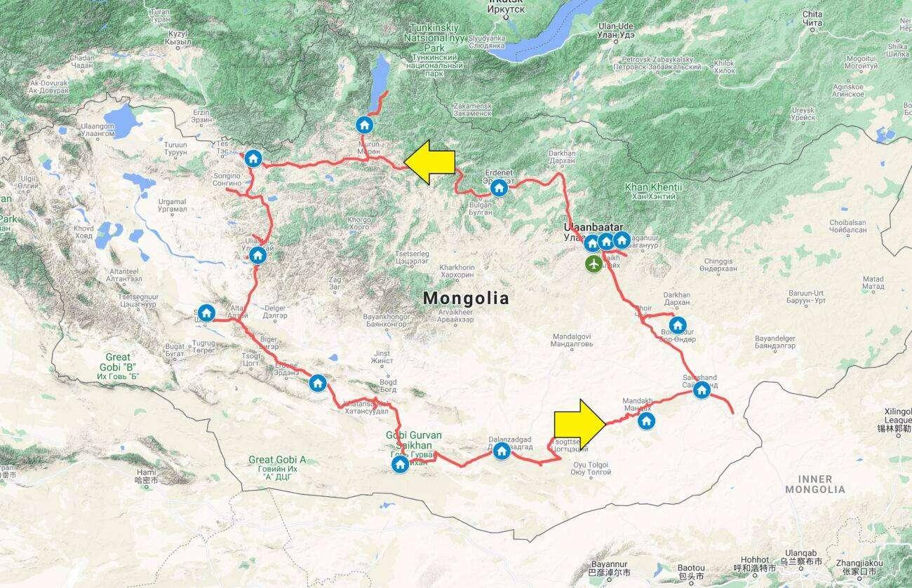 Mappa Mongolia 2021 scaled Mongolia