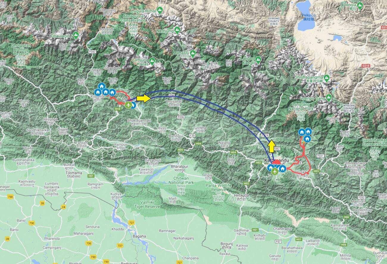 Mappa Nepal 2021 scaled Nepal