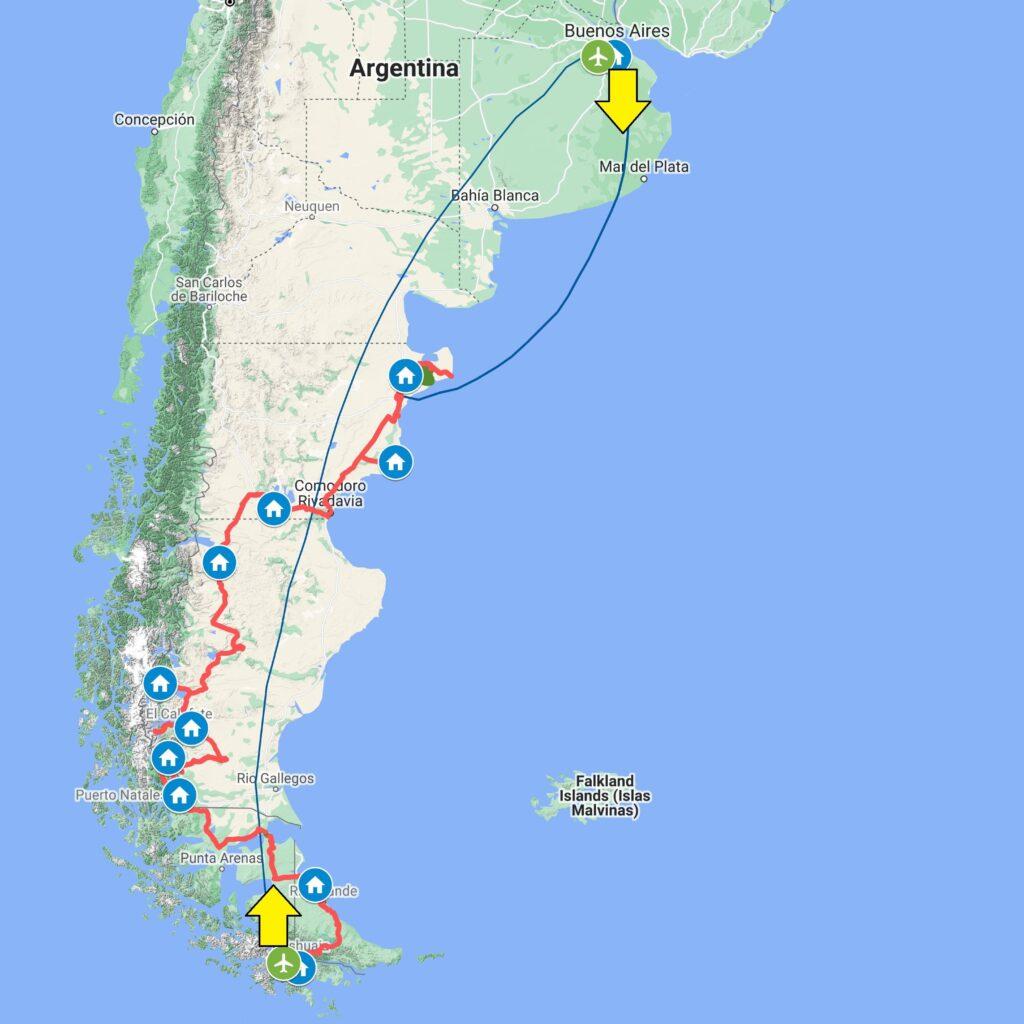 Mappa PATA Overland 2021 sez Sud 1024x1024 Patagonia dove la terra incontra il cielo